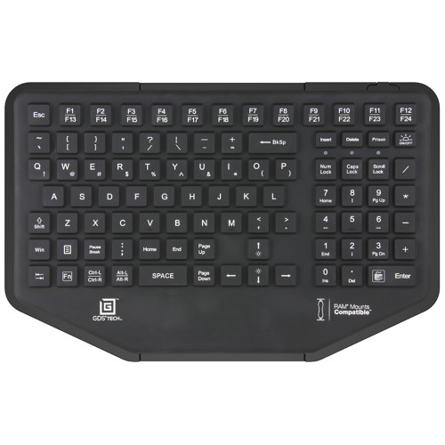 RAM Mount GDS Keyboard w\/10-Key Numeric Pad