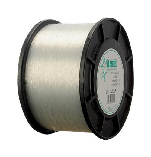 Ande Premium Mono Line 9lb Spool 80lb 5400yd Clear