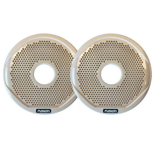 """FUSION MS-FR6GBG - 6"""" Grill Covers - Beige f\/FR-Series Speakers"""