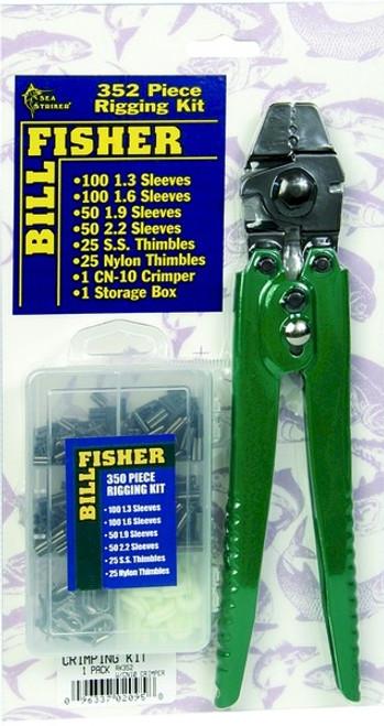 Billfisher Rigging Kit 352 Piece with Crimper (RK352)