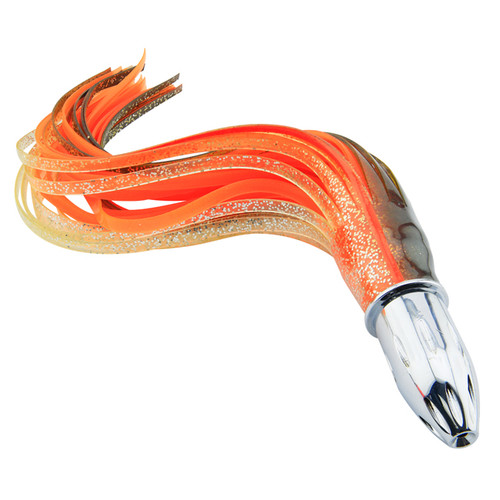 Billy Baits Mister Big Wahoo Lure Brown/Clear, Sparkle/Orange (BB-MB127)