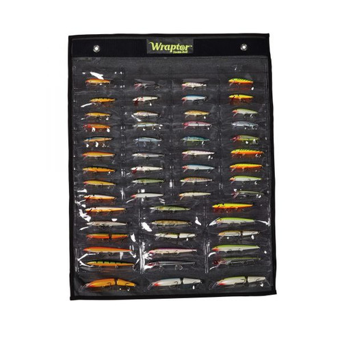 Wraptor Tackle Roll - Classic Pro - 54 Pockets