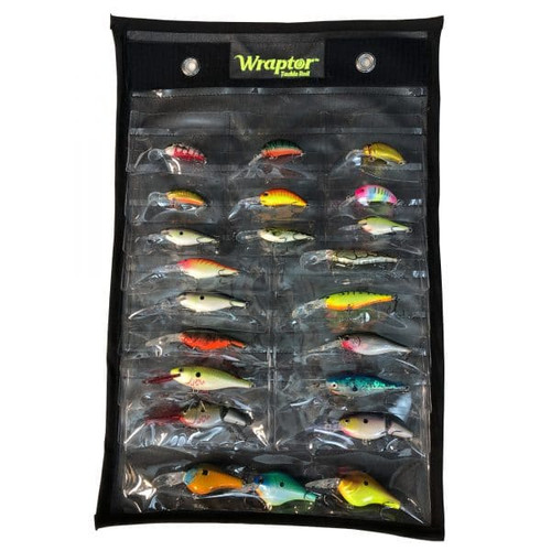 Wraptor Tackle Roll - Starting Line-Up - 21 Pockets