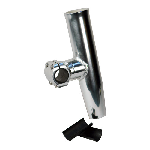 "C.E. Smith Adjustable Mid Mount Rod Holder Aluminum 1-1\/4"" or 1-5\/16"" w\/Sleeve  Hex Key"