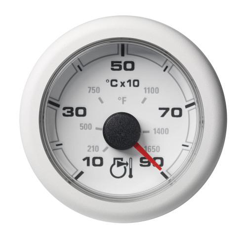 """VDO Marine 2-1\/16"""" (52mm) OceanLink Pyrometer Gauge in C - White Dial  Bezel"""