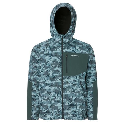 Grundens Bulkhead Fleece Jacket - Refraction Camo