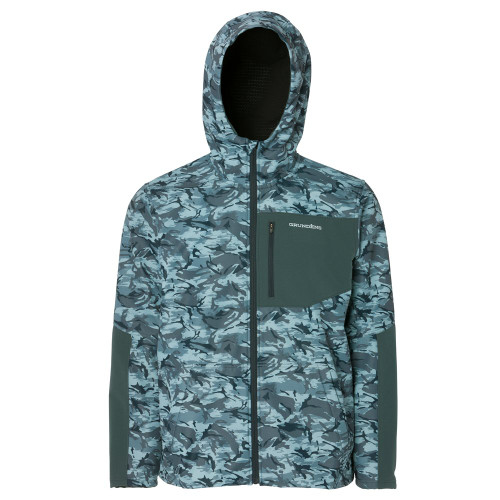 Grundens Bulkhead Fleece Jacket - Refraction Camo