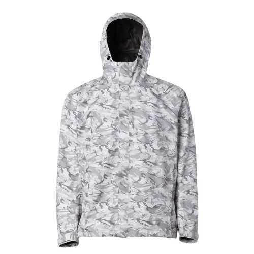 Grundens Charter Gore-Tex Jacket - Refraction Camo Glacier