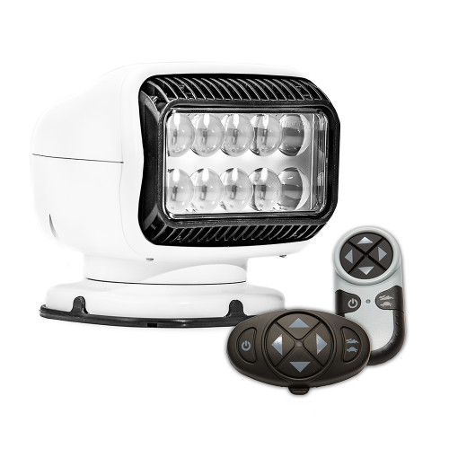 Golight Radioray GT Series Permanent Mount - White LED - Wireless Handheld  Wireless Dash Mount Remotes