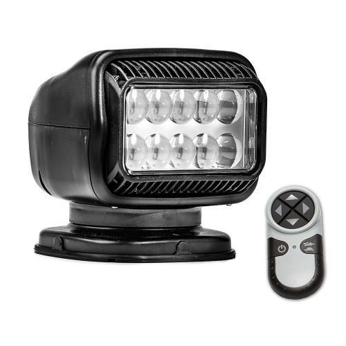 Golight Radioray GT Series Permanent Mount - Black LED - Wireless Handheld Remote