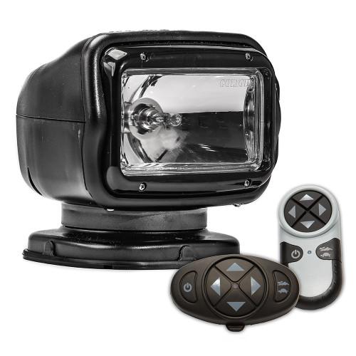 Golight Radioray GT Series Permanent Mount - Black Halogen - Wireless Handheld  Wireless Dash Mount Remotes