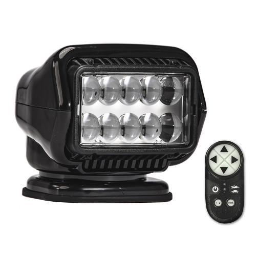 Golight Stryker ST Series Permanent Mount Black LED w\/Wireless Handheld Remote