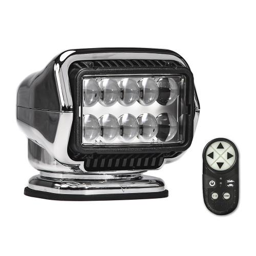 Golight Stryker ST Series Permanent Mount Chrome LED w\/Wireless Handheld Remote
