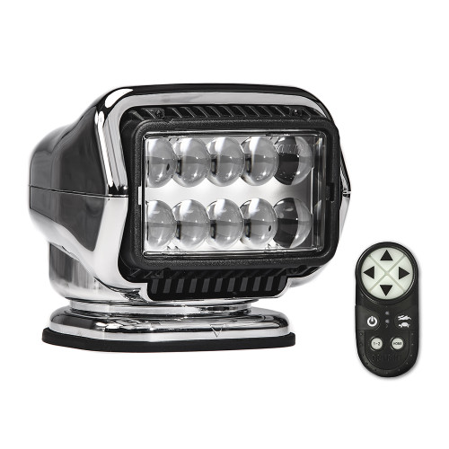 Golight Stryker ST Series Permanent Mount Chrome LED w\/Wireless Handheld Remote