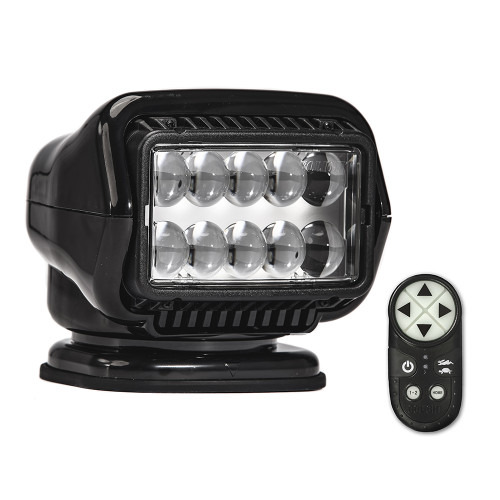 Golight Stryker ST Series Portable Magnetic Base Black LED w\/Wireless Handheld Remote