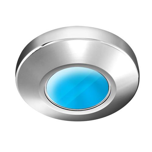 i2Systems Profile P1100 1.5W Surface Mount Light - Blue - Chrome Finish