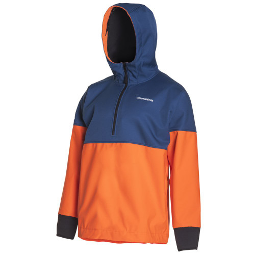 Grundens North Sea Anorak - Navy/Orange