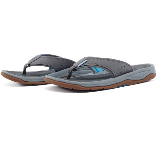 Grundens Deck-Boss Sandal - Monument Grey