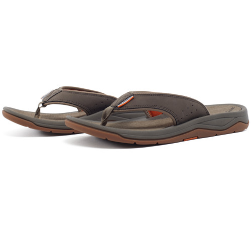 Grundens Deck-Boss Sandal - Brindle