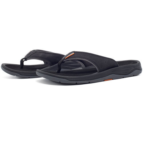 Grundens Deck-Boss Sandal - Black
