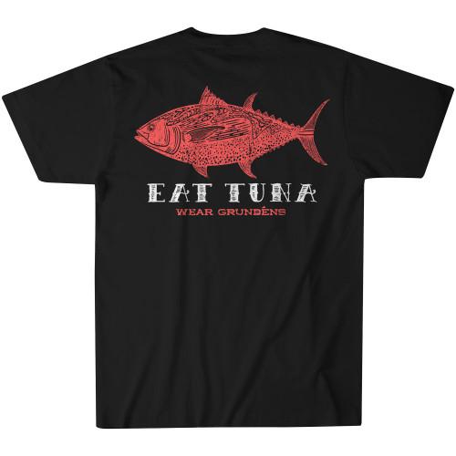 Grundens New Eat Tuna T-Shirt - Black