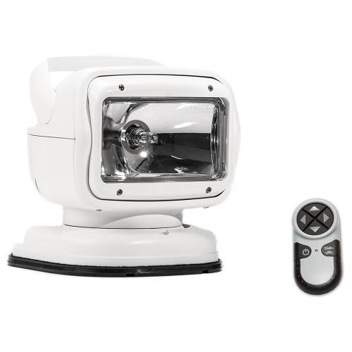 Golight Radioray GT Series Portable Mount - White Halogen - Wireless Handheld Remote Permanent Shoe Mount