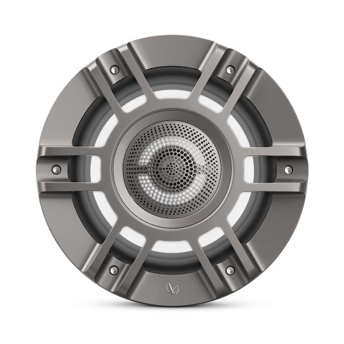 "Infinity 8"" Marine RGB Kappa Series Speakers - Pair - Titanium\/Gunmetal"