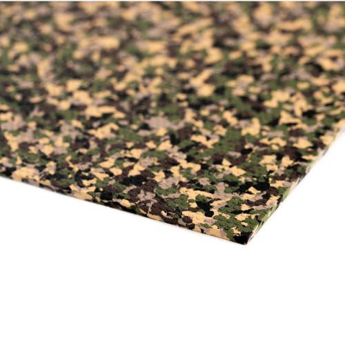 """SeaDek Embossed 5mm Sheet Material - 40"""" x 80""""- Army Camo"""