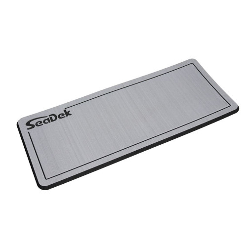 "SeaDek Dual Density Helm Pad - 14"" x 36"" 20mm - Small - Storm Gray w\/Black Laser SD Logo"