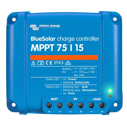 Victron BlueSolar MPPT Charge Controller - 75V - 15AMP