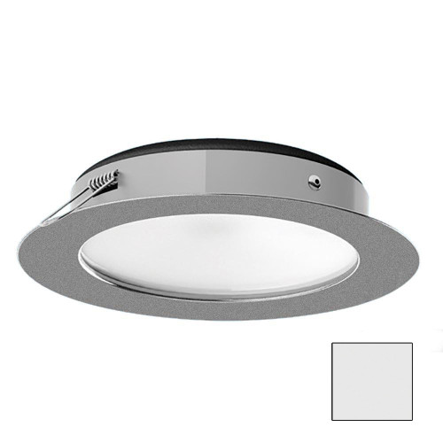 i2Systems Apeiron Pro XL A526 - 6W Spring Mount Light - Cool White - Brushed Nickel Finish
