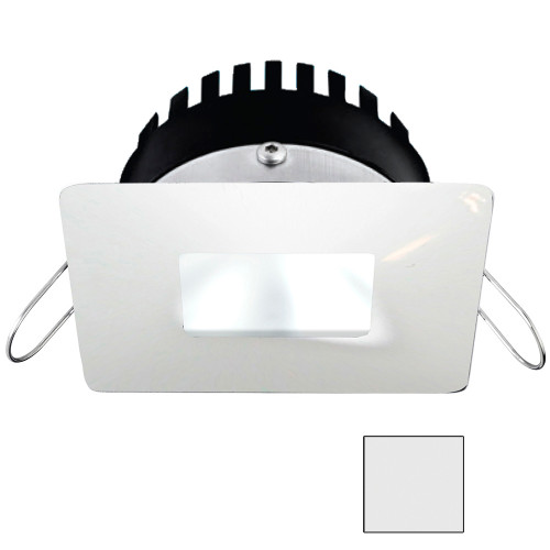 i2Systems Apeiron PRO A506 - 6W Spring Mount Light - Square\/Square - Cool White - White Finish