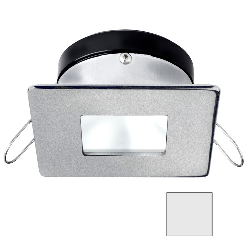 i2Systems Apeiron A1110Z - 4.5W Spring Mount Light - Square\/Square - Cool White - Brushed Nickel Finish