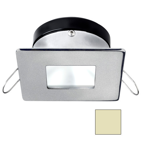 i2Systems Apeiron A1110Z - 4.5W Spring Mount Light - Square\/Square - Warm White - Brushed Nickel Finish