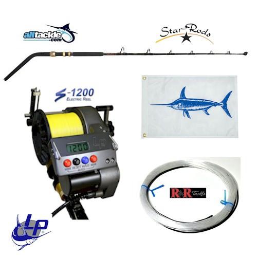 Alltackle Daytime Swordfish Kit w/ LP S-1200 Reel/Star Swordfish Rod