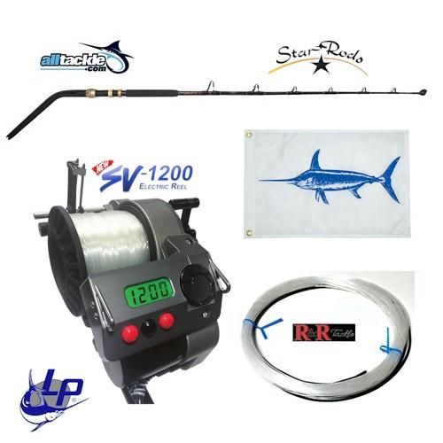 Alltackle Daytime Swordfish Kit w/ LP SV-1200 Reel & Star Swordfish Rod