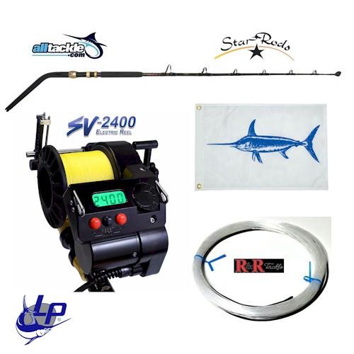 Alltackle Daytime Swordfish Kit w/ LP SV-2400 Reel & Star Swordfish Rod