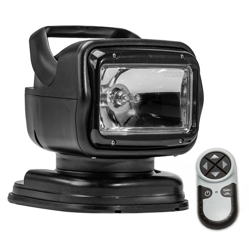 Golight Radioray GT Series Portable Mount - Black Halogen - Wireless Handheld Remote Magnetic Shoe Mount