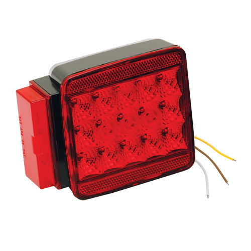 """Wesbar LED Left\/Roadside Submersible Taillight - Over 80"""" - Stop\/Turn"""