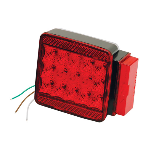 "Wesbar LED Right Roadside Submersible Taillight - Over 80"" - Stop\/Turn"