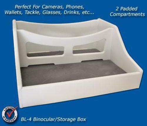 Deep Blue Marine Binocular Rack w/ Storage Box (BL-4)