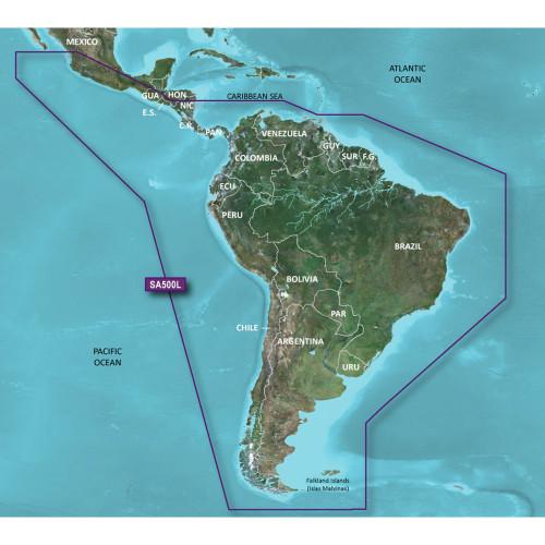 Garmin BlueChart g2 - HXSA500L - South America - microSD\/SD