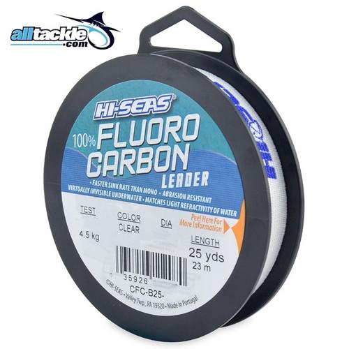 Hi Seas Fluorocarbon Leader 25yd Spool