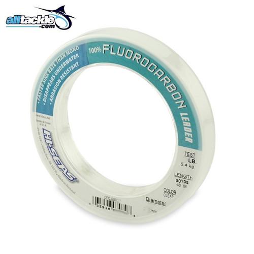 Hi Seas Fluorocarbon Leader 50yd Spool