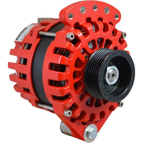 "Balmar Alternator 170AMP, 12V, 1-2"" Single Foot, K6 Pulley w\/Internal Regulator  Isolated Grounding"
