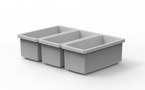 Buzbe Bins - 1x2 3 pack for Colony 28 Tackle Box
