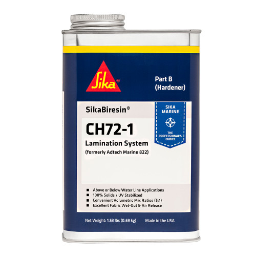 Sika SikaBiresin CH72-1 Fast Cure - Pale Amber - Quart