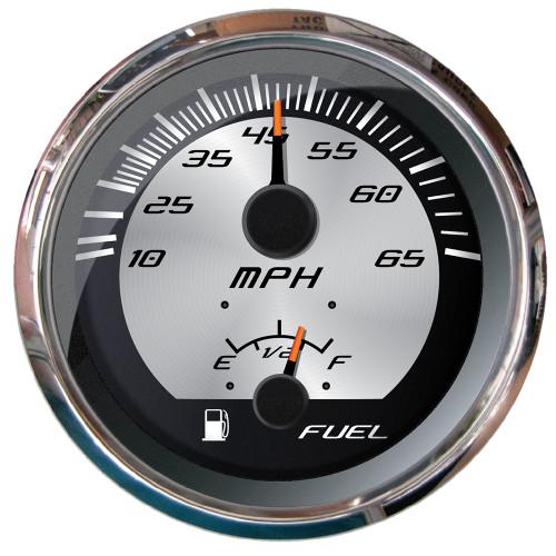 """Faria Platinum 4"""" Multi-Function - Speedometer  Fuel"""
