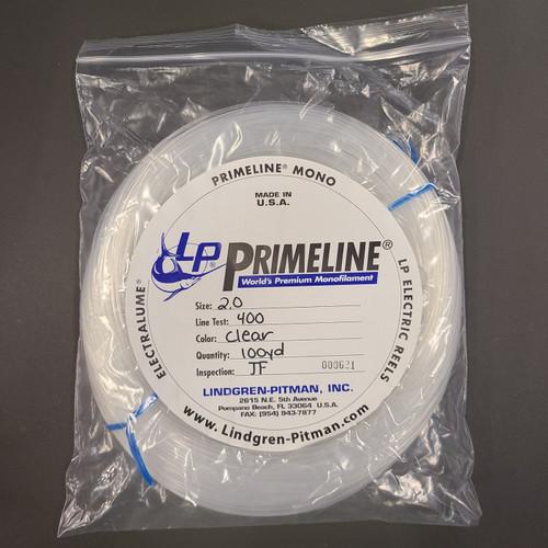 Lindgren Pitman Primeline Monofilament Coil - 100yd - 400lb Test - Clear