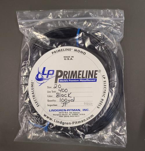 Lindgren Pitman Primeline Monofilament Coil - 100yd - 400lb Test - Black